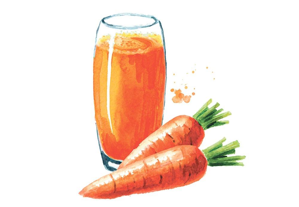 grăsime arderea bărbatului de morcov